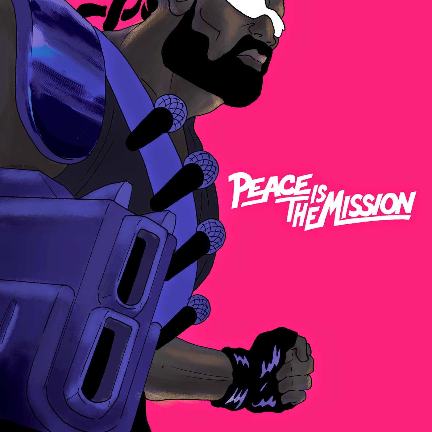 Major Lazer x Ferry Gouw – Peace Is The Mission