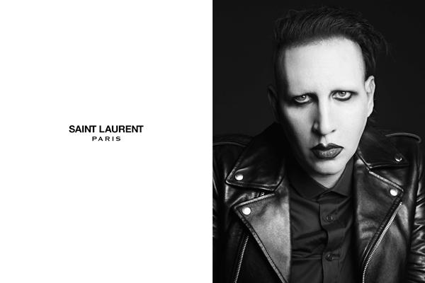 Marilyn Manson x Hedi Slimane x Yves Saint-Laurent