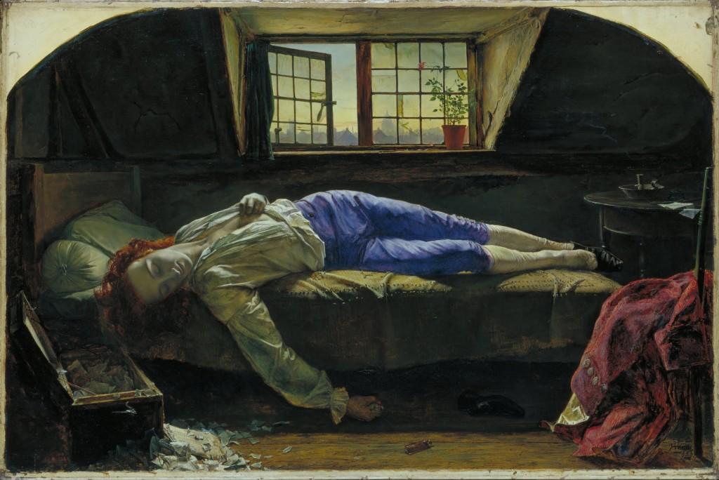 Henry Wallis - La Mort de Chatterton