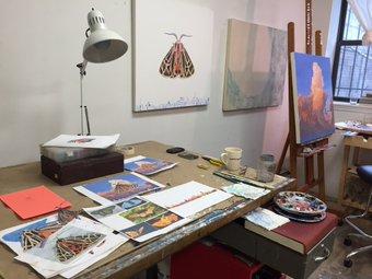 Rebecca Bird studio