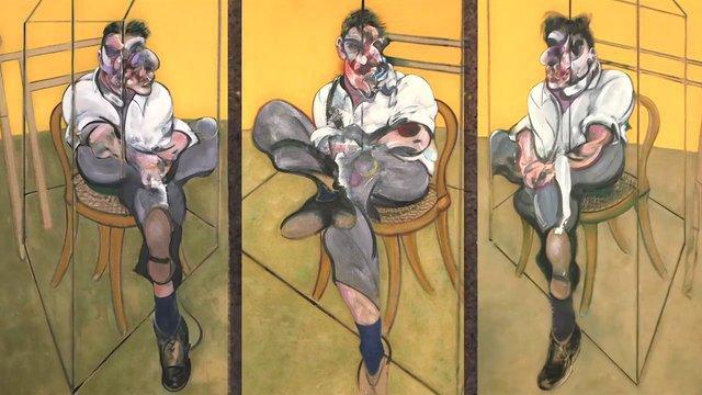 Francis Bacon - Trois études de Lucian Freud