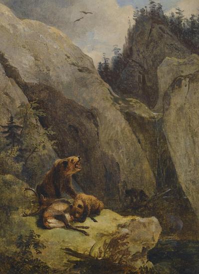 Friedrich Gauermann - Bears