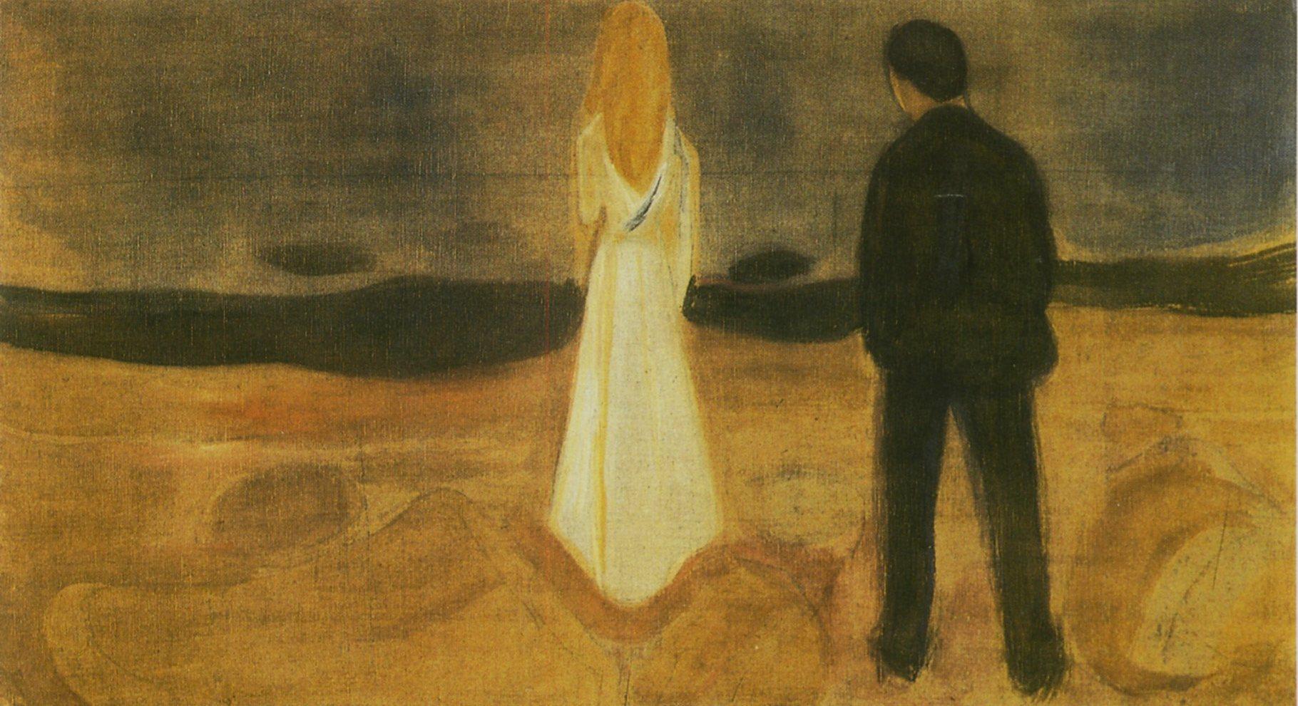 Edvard Munch - Les Solitaires (Nuit d'Été)