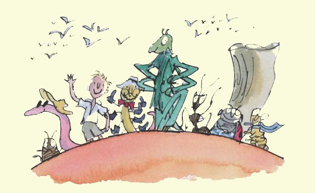 Quentin Blake - James abd the Giant Peach