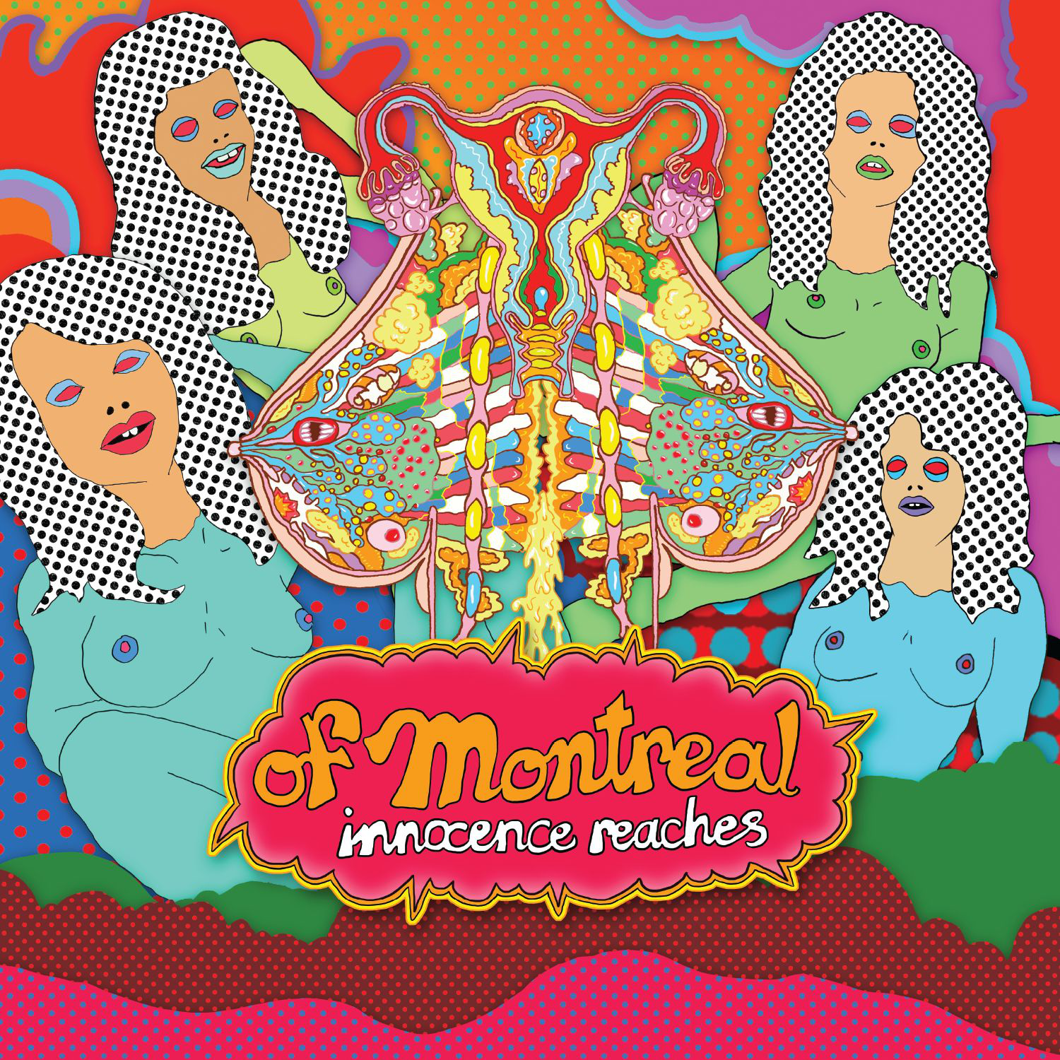 Of Montreal x David Barnes - Innocence Reaches