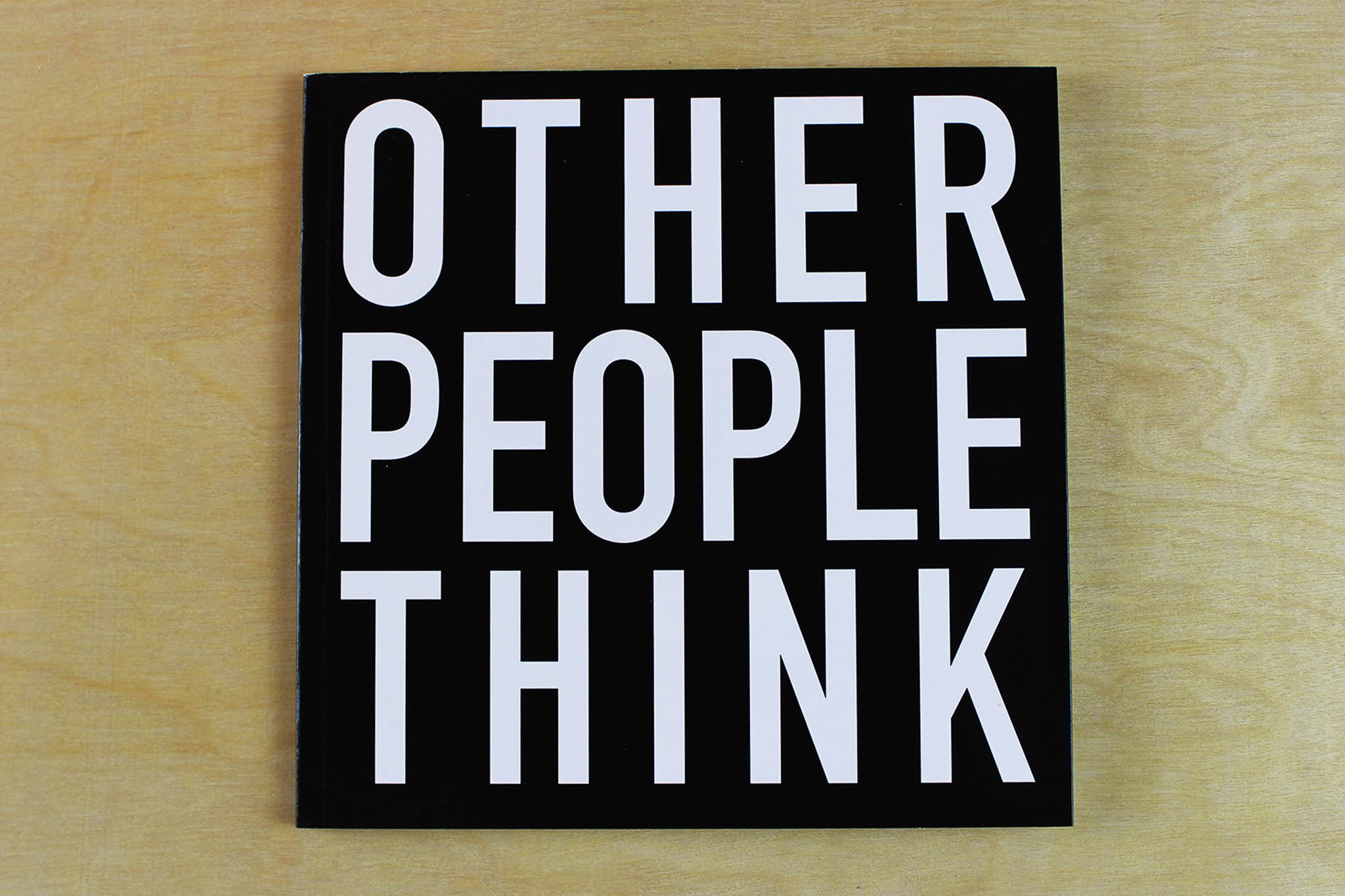 Alfredo Jaar - Other People Think
