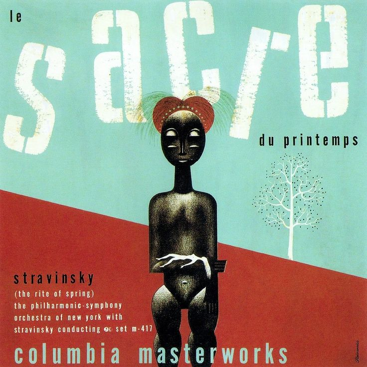 Le Sacre du Printemps (The Rite of Spring), Stravinsky et le New York Philharmonic Orchestra, Columbia Masterwork, 1944