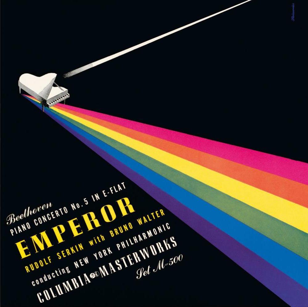 Emperor Concerto (Beethoven), Rudolf Serkin avec Bruno Walter et le New York Philharmonic Orchestra, Columbia Masterworks, 1948