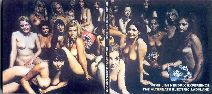 Electric Ladyland, The Jimi Hendrix Experience, Track Record, 1968. Photographie de David Montgomery