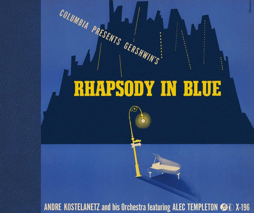 Rhapsody in Blue (George Gelshwin), André Kostelanetz et son orchestre, Columbia, 1941
